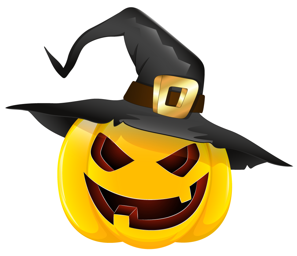 Halloween kids party entertainer chelsea pumpkin-with-witch-hat-clipart-gallery-witch-pumpkin