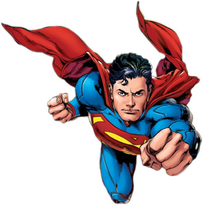 Superman themed entertainer
